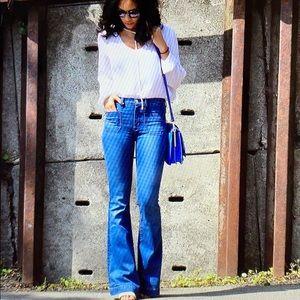 Hudson Taylor jeans . Flare hi waist